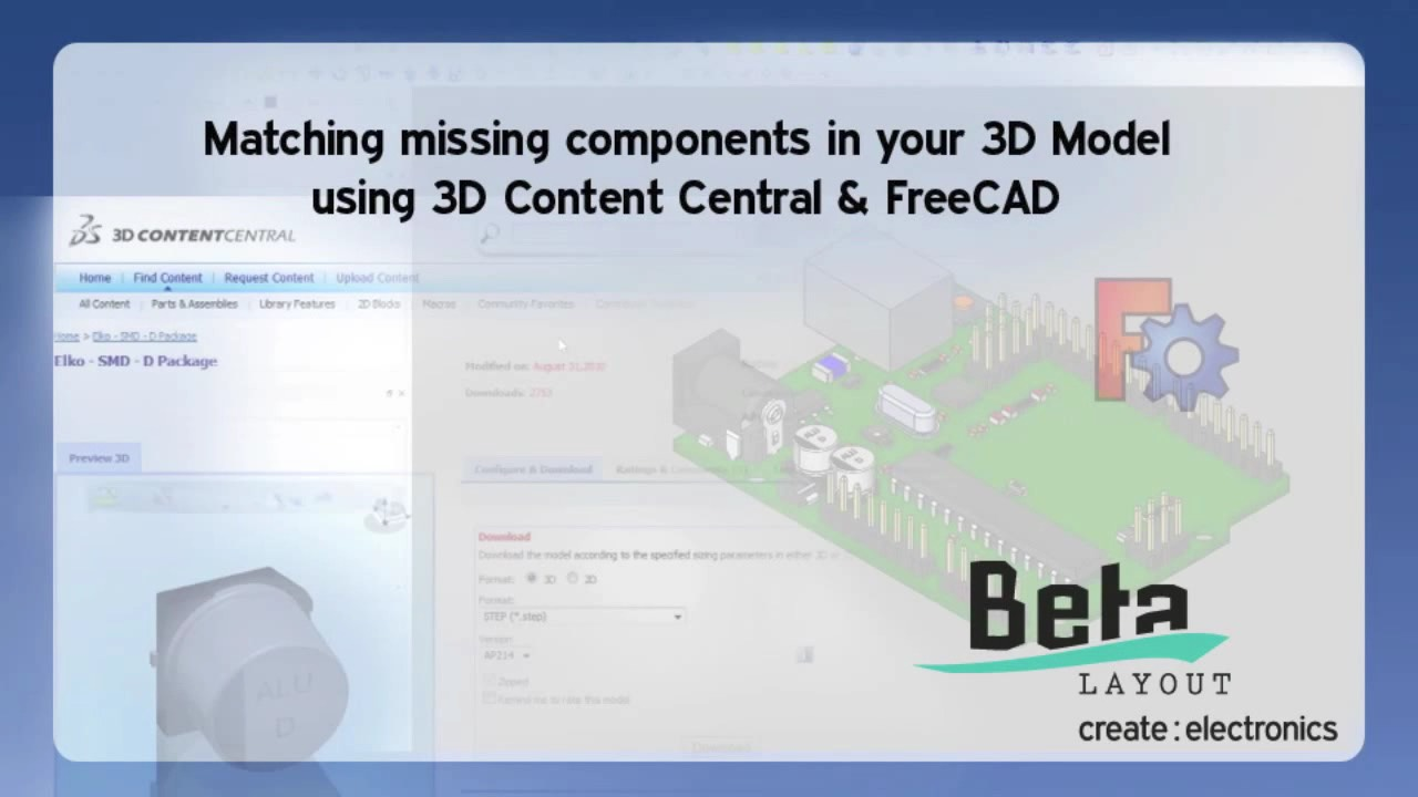 Eagle CAD 3D Mode - Beta LAYOUT Ltd